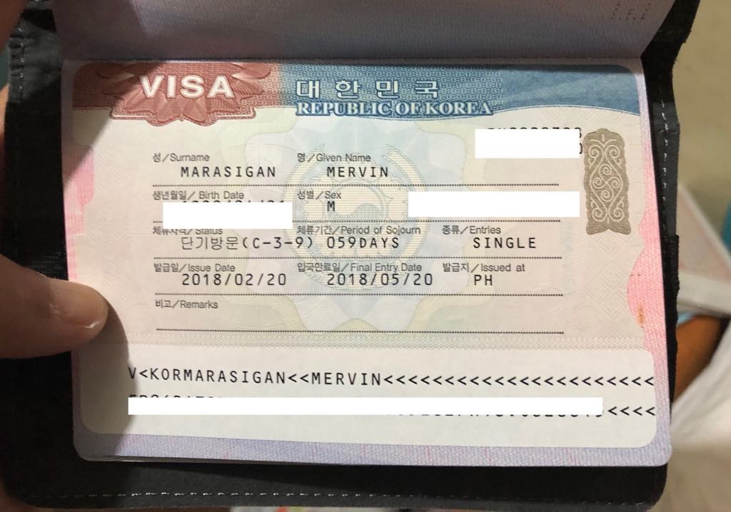 SOUTH KOREA VISA REQUIREMENTS and How to Apply for a Visa in