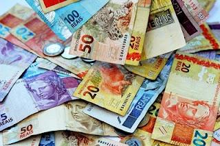 Imagem: Real moeda brasileira, dinheiro
