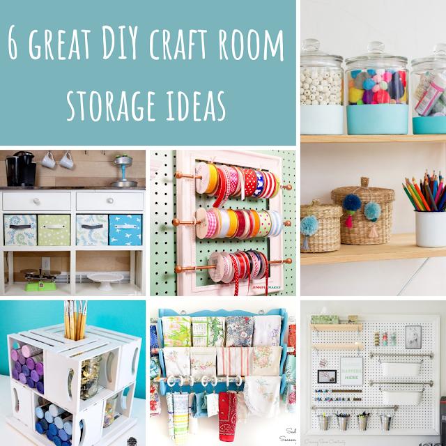 6 great DIY craft room storage ideas