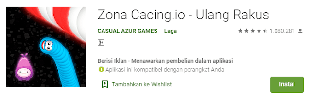 worm zone game cacing - fikrya.net