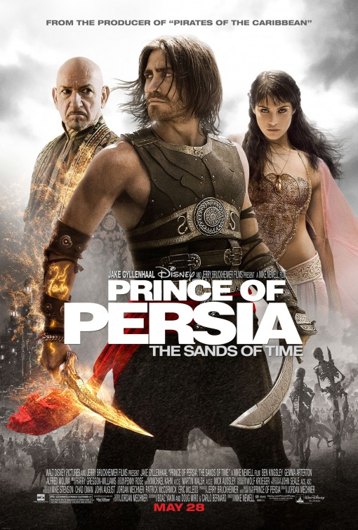 Prince of Persia Sands of Time movie poster