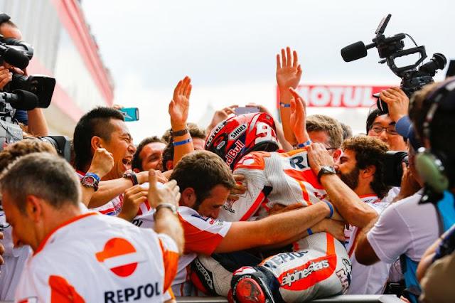 Juara GP Amerika, Marquez Pimpin Klasemen MotoGP