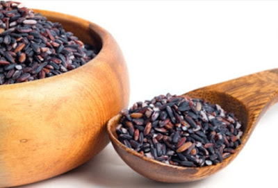 This is the use of black sticky rice for diabetics
