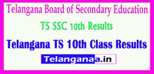 Telangana TS SSC 10th Class Results 2019