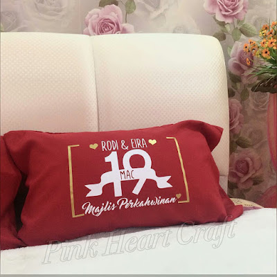 custom made pillow case exclusive for anniversary