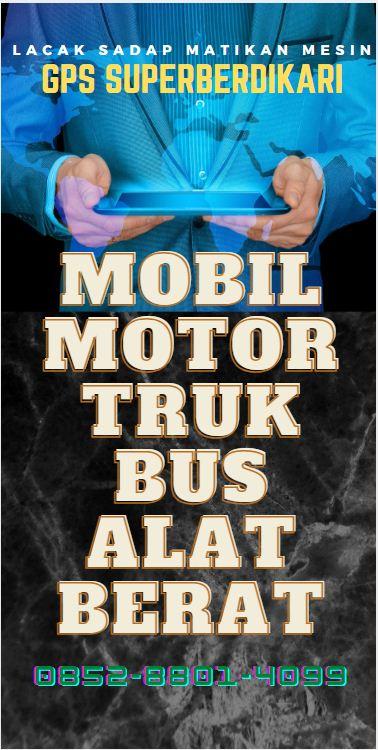 gps tracker semarang pasang di motor mobil truk bus alat berat 2021