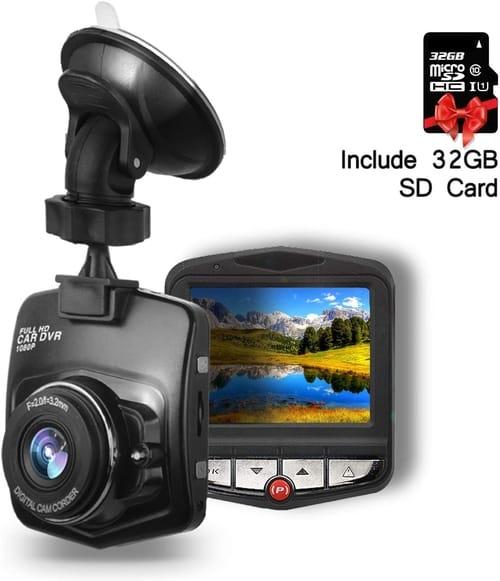 SendCord Full HD Dash Cam Car Camera Review