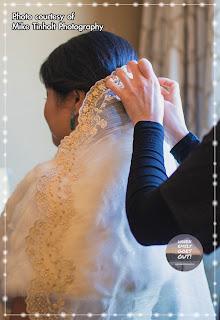 Emily's Piña Bridal Veil