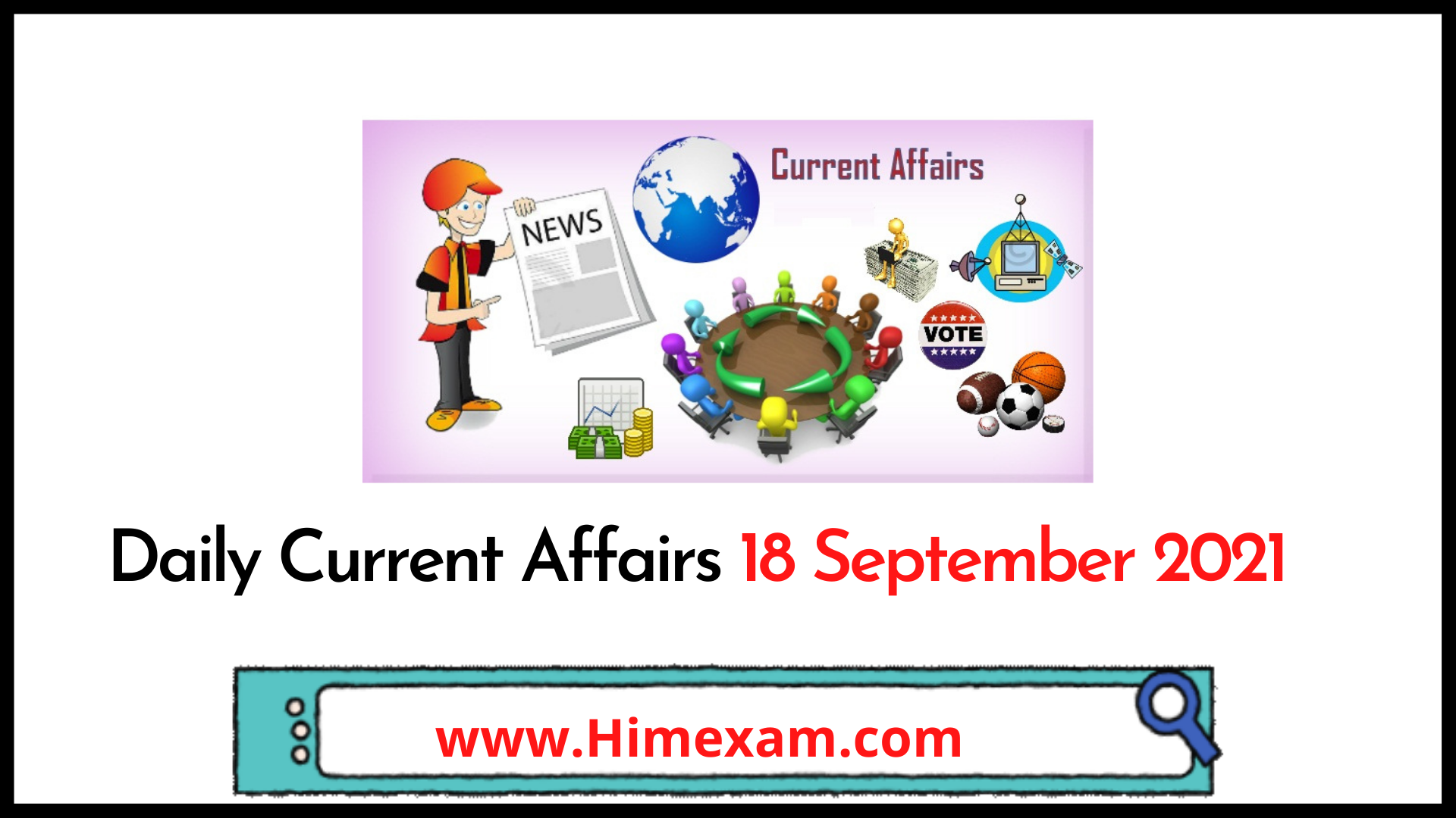 Daily Current Affairs 18 September 2021