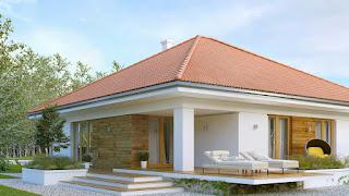 Bentuk Atap Rumah model Tenda