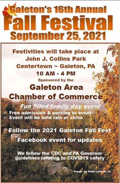 9-25 Galeton Fall Festival