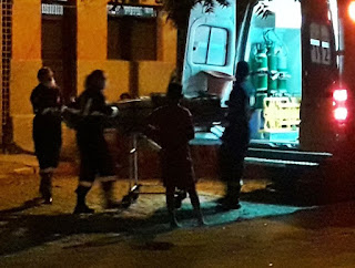 Acidente de moto deixa uma pessoa ferida no centro de cidade no interior da PB