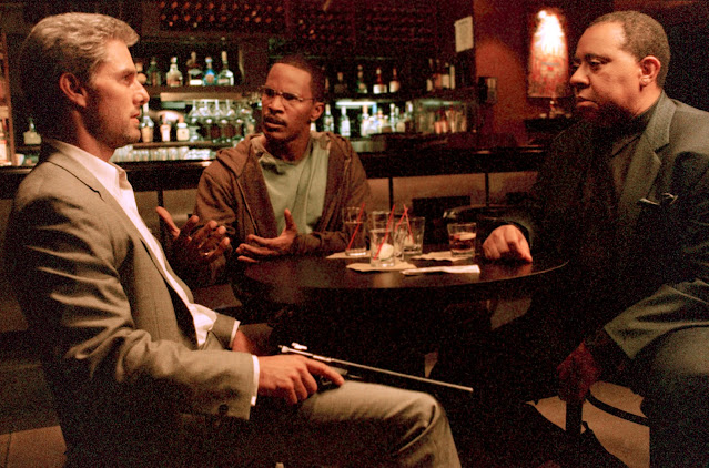 vincent, max and the band dude in the movie the collateral