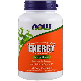 فيتامينات الطاقة للتعب الشديد والارهاق من ناو فودز