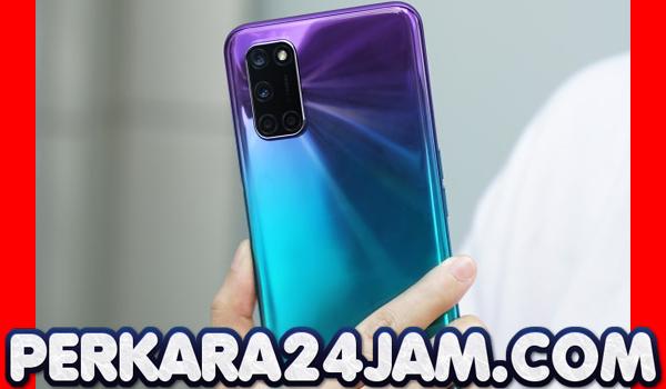 Smartphone Oppo A92 Punya Varian Warna Aurora Purple