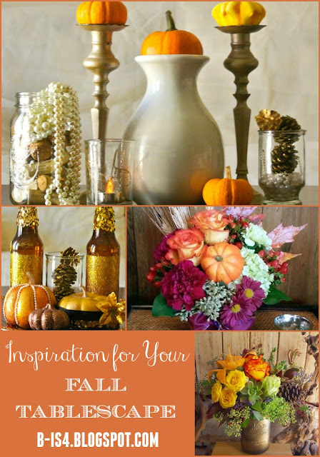 Autumn Centerpiece, Thanksgiving Table