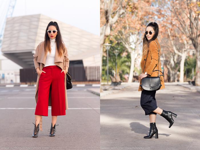 Como combinar los pantalones culottes