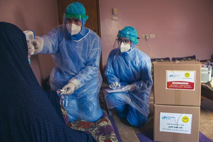 غزة: 6 وفيات و 373 اصابة جديدة بفيروس كورونا