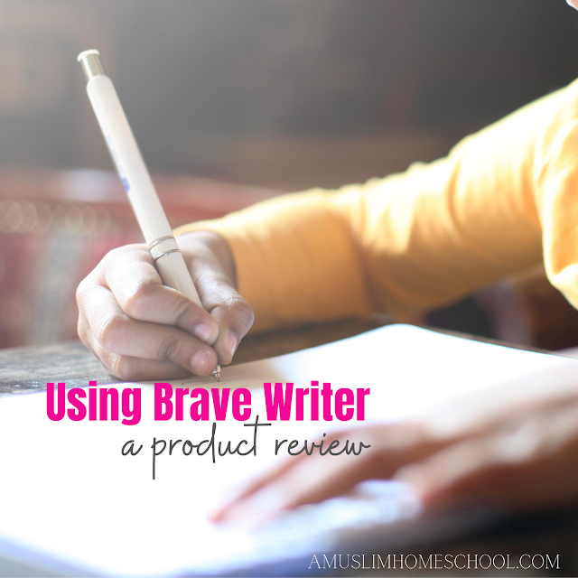 Brave Writer review homeschool curriculum