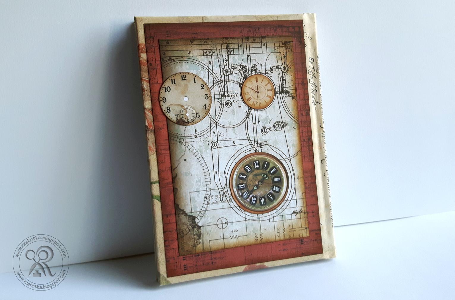 Kalendarz w klimacie steampunk