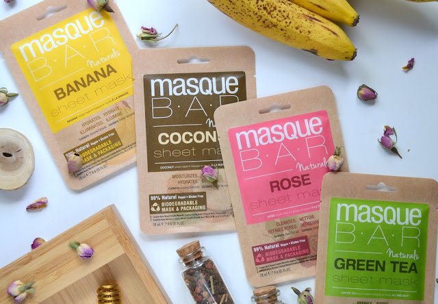 MasqueBAR Naturals Collection Flatlay