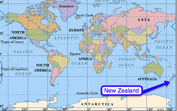 World Map With Australia Circled.Collection Where Is New Zealand On The Map Photos World