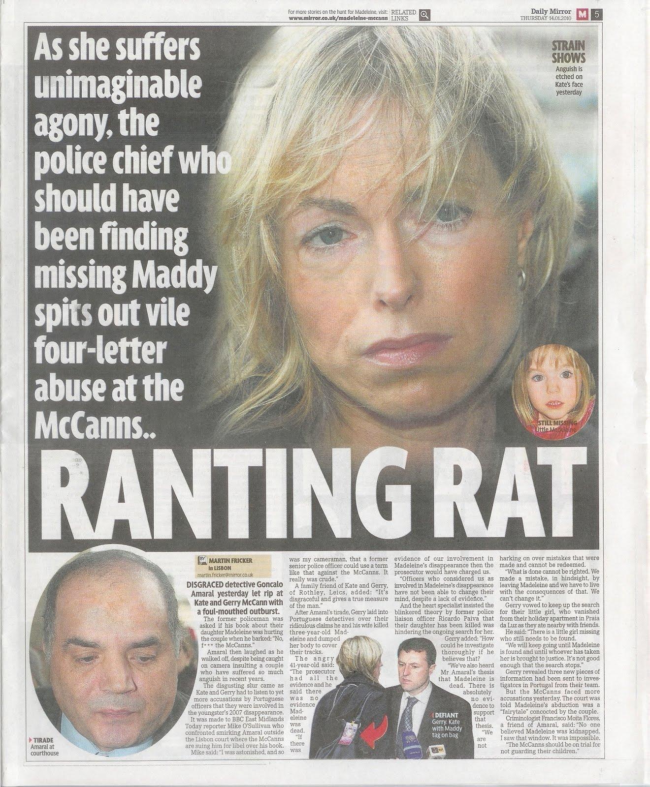 Media Mayhem - MCCANN MEDIA NONSENSE OF THE DAY - Page 7 Mirror14012010