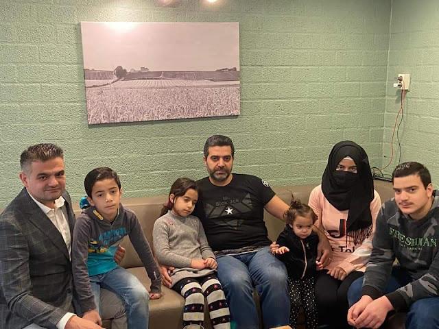 """النائب في البرلمان الهولندي """"توهان كوزو"""" يزور العائلة السورية التي تعرضت للاعتداء"""