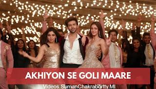Download Ankhiyon Se Goli Mare - Pati Patni Aur Woh Full HD Video