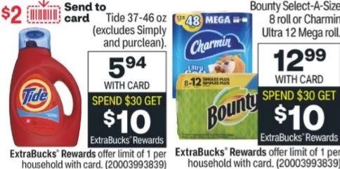 Bounty & Tide CVS PG Deal 9/19-9/25