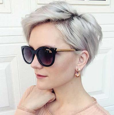 Warana rambut grani putih