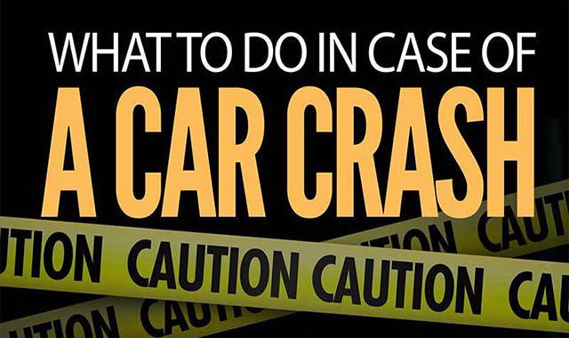 What to do with a car crash #infographic
