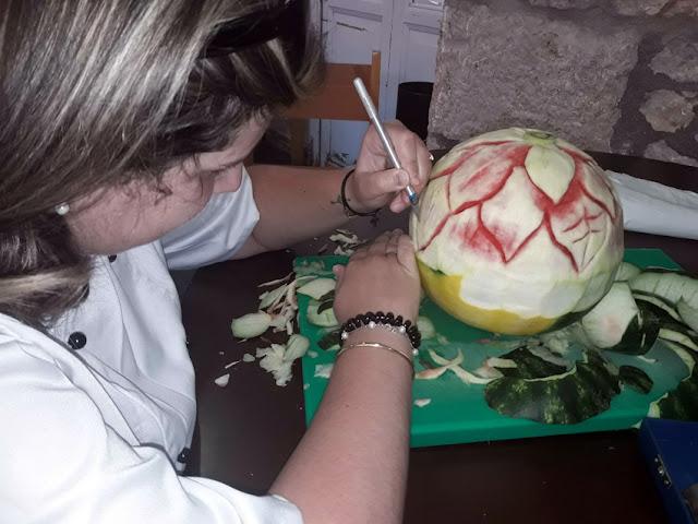 Εντυπωσιακές δημιουργίες διακοσμητικής στη Τουριστική σχολή στο Άργος