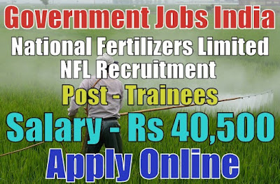 National Fertilizers Limited NFL Recruitment 2018