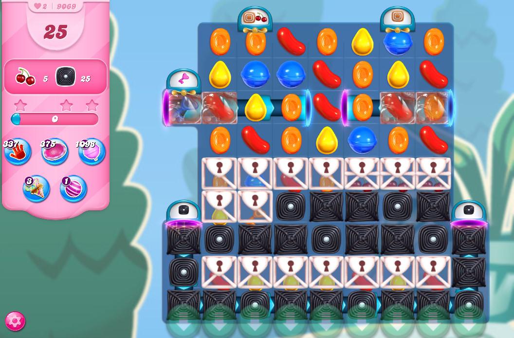 Candy Crush Saga level 9069
