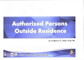 LATEST UPDATE COVID19: IATF Guidelines of Luzon Enhanced Community Quarantine