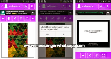 Agrega fondos bonitos y elegantes con Wallpapers HD for WhatsApp