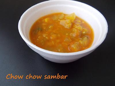 http://baraniskitchen.blogspot.com/2015/07/chow-chow-sambar-chayote-squash-sambar.html