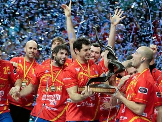 España balonmano campeón mundial 2013