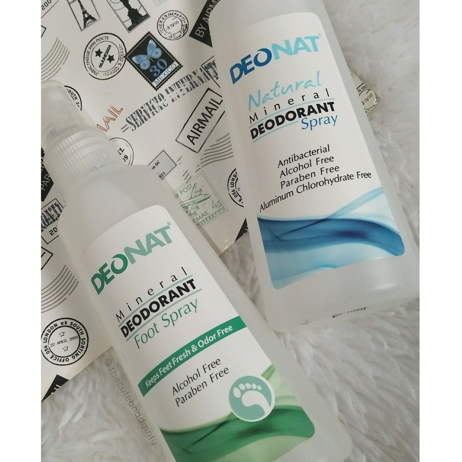 Review Deonat Mineral Deodorant Spray Cute And Dainty