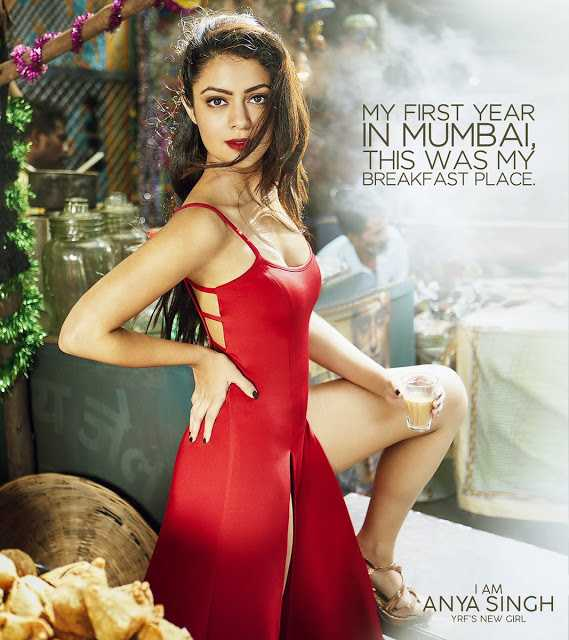Bollywood Actress Anya Singh Bikini Photoshoot