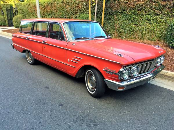 Awesome 1963 Mercury Comet Wagon