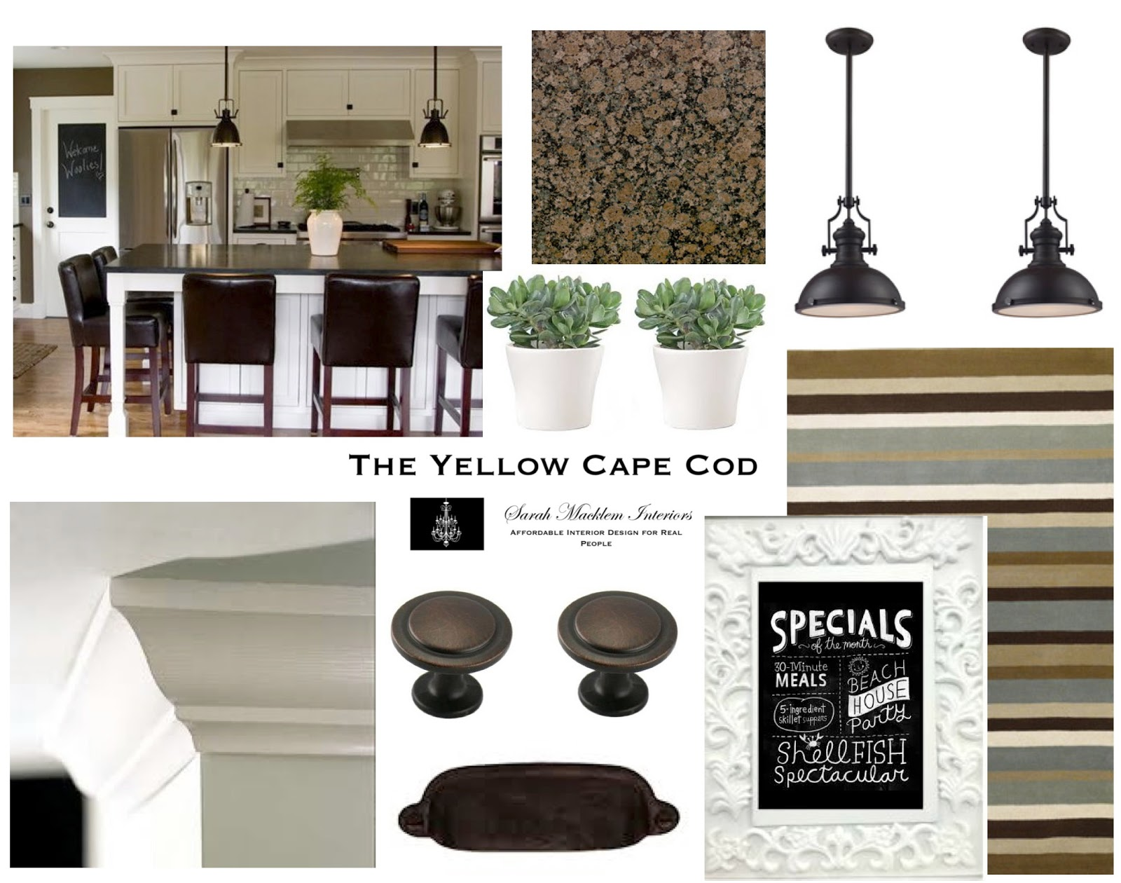 The Yellow Cape Cod Whole House Design Plan