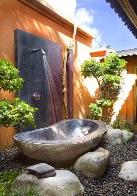Natural Bathtubs - 10 Fantastic Nature-Inspired Bathtub Design Ideas