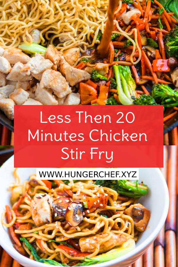 Less Then 20 Minutes Chicken Stir Fry Recipe - Easy Chicken Stir Fry Recipe - Easy Dinner Recipe - Easy Chicken Recipe - Healthy Recipes #whole30 #whole30recipe #chickenrecipe #easychickenrecipe #chickenstirfry #stirfry #easydinnerrecipe #dish #maindish