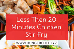 Less Then 20 Minutes Chicken Stir Fry Recipe