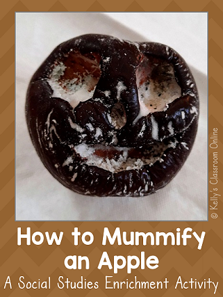 How to make an apple mummy