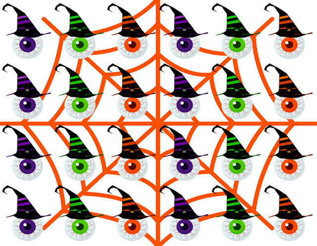 Halloween-bloody-eye-white-pattern-design-by-yamy-morrell