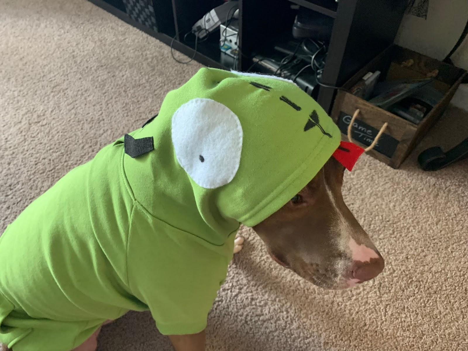 GIR the Robot Dog Costume (Invader Zim) | The Nifty Nerdarella