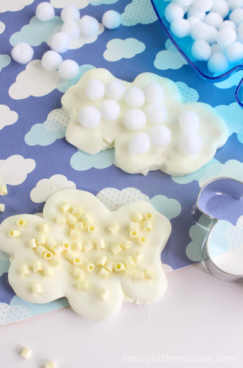 Sensory Cloud Dough Activity